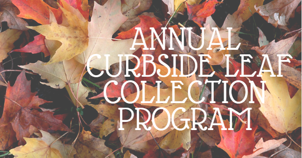 Annual Curbside Leaf Collection Program
