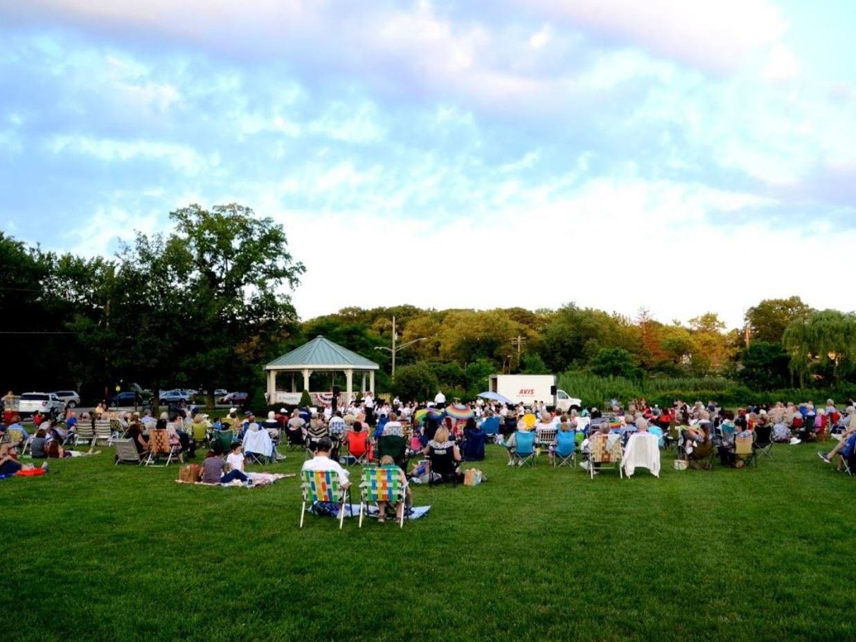 1.Ginty Gazebo Summer Concert Series