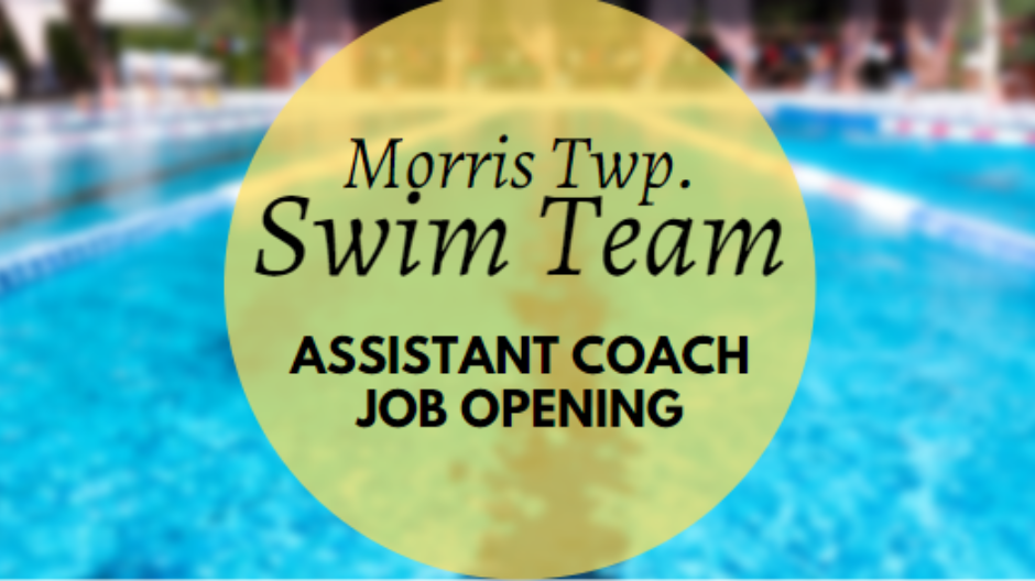 Swim Team Assistant Coach Job Opening